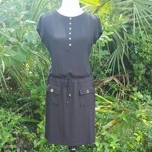 Adrienne Vittadini comfy little black dress